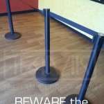 Beware Economical Stanchions