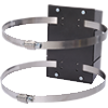 Clamp Wall Mount - Wall Mounted Barrier Mounting Option