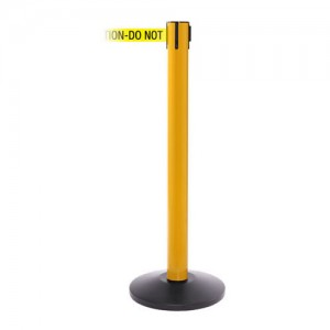 SafetyPro 250 Yellow Safety Retractable Belt Stanchion Barrier