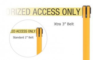 SafetyPro Belt Width Options