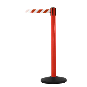 SafetyPro 250 Red Safety Retractable Belt Stanchion Barrier